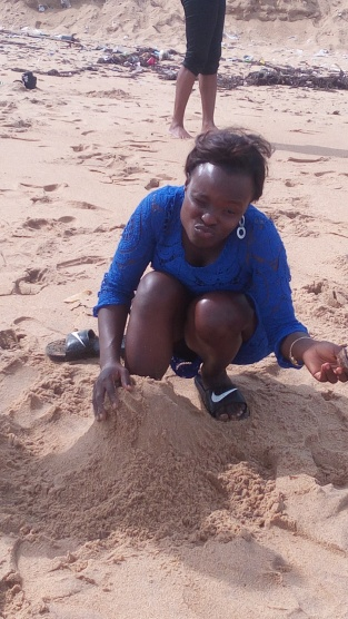 building a sand house