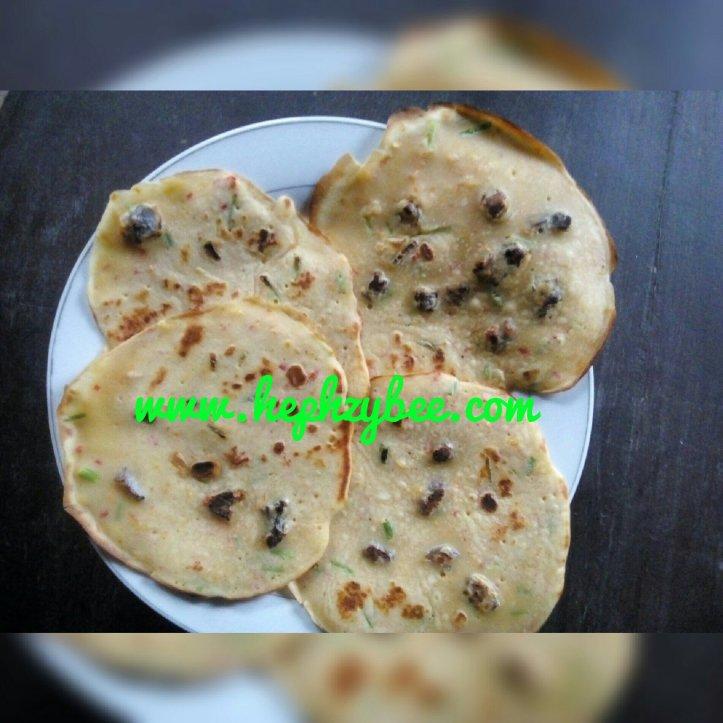 Unburnt pancake