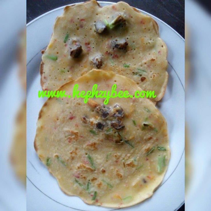 How to make Nigerian pancakes