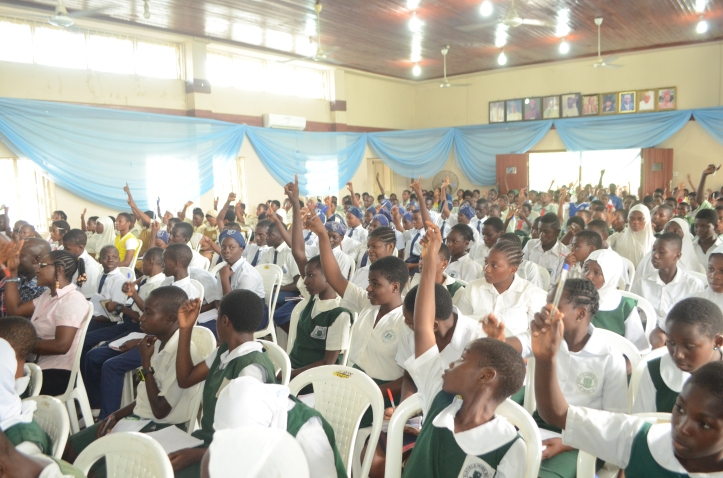 Cross section of participants at Stand Out 4.0